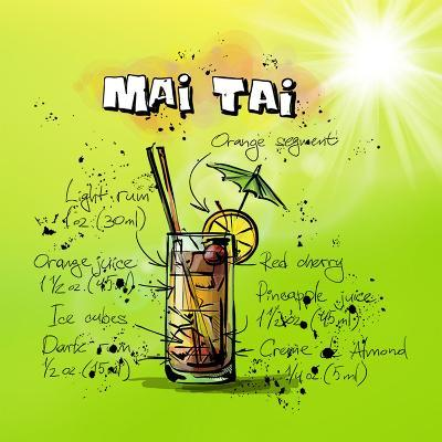 Mai Tai-Wonderful Dream-Art Print