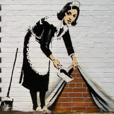 Maid-Banksy-Giclee Print