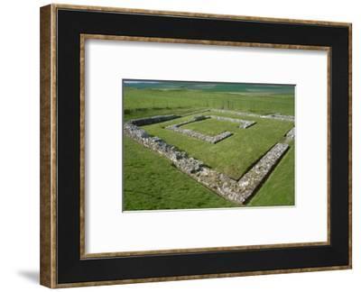 Maiden Castle, 4th century-CM Dixon-Framed Photographic Print