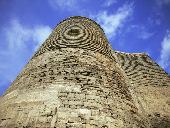 Maiden Tower, Baku, Azerbaijan, Central Asia-Olivieri Oliviero-Photographic Print