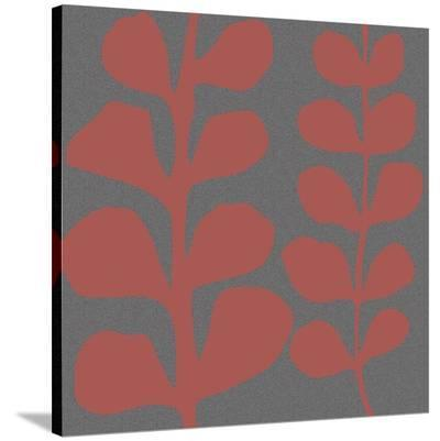 Maidenhair Coral Stem (double)-Denise Duplock-Stretched Canvas Print