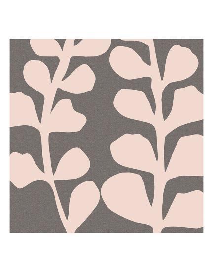 Maidenhair Shell Pink-Denise Duplock-Art Print