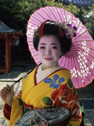 Maiko Girl, Kyoto, Japan--Photographic Print