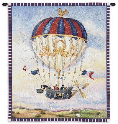 Mail Drop-Alexandra Churchill-Wall Tapestry