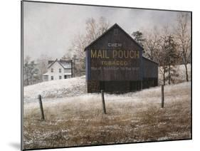 Mail Pouch Barn-David Knowlton-Mounted Giclee Print