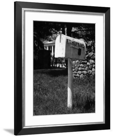 Mailbox-George Marks-Framed Photographic Print