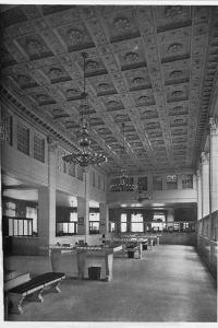 Main Banking Room, Security Bank of Chicago, Illinois, 1926