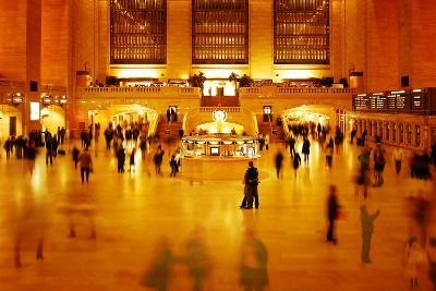 Main Concours in Grand Central Terminal, Manhattan, New York Cit-Sabine Jacobs-Photographic Print