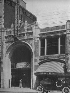 Main entrance, the St George Theatre, Framingham, Massachusetts, 1925