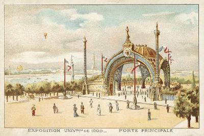 Main Gate, Exposition Universelle 1900, Paris--Giclee Print
