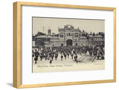 Main Gates, Royal Arsenal, Woolwich