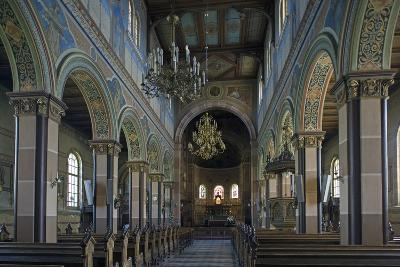 Main Nave of St Joseph's Catholic Cathedral, Liepaja, Kurzeme Region (Courland), Latvia--Photographic Print
