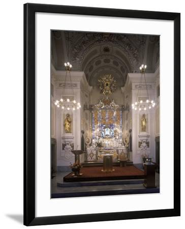Main Silver Altar in the Basilica of the Assumption of the Virgin Mary at Svatá Hora--Framed Photographic Print