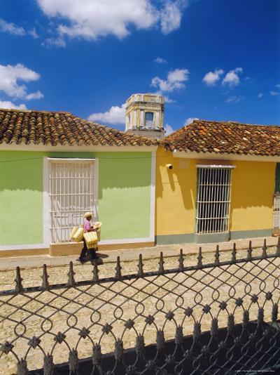 Main Square, Trinidad, Sancti Spirtus Region, Cuba-J P De Manne-Photographic Print