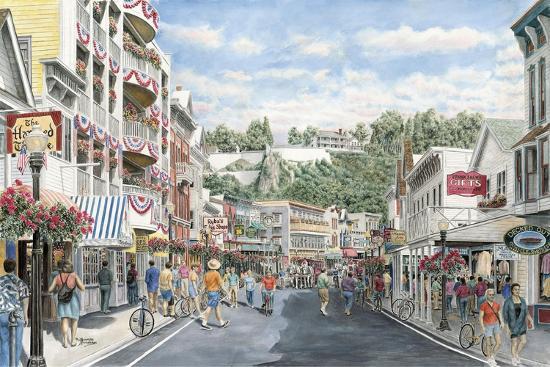Main St.: Mackinaw-Stanton Manolakas-Giclee Print