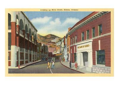 Main Street, Bisbee, Arizona--Art Print