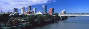 Main Street Bridge across Arkansas River, Little Rock, Arkansas, USA