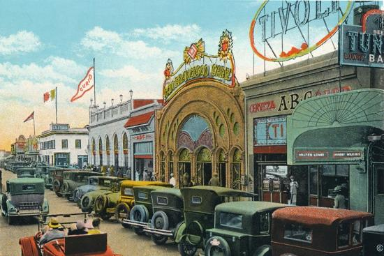 'Main Street', c1939-Unknown-Giclee Print