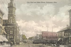Main Street, City Hall, Delaware, Ohio