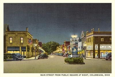 Main Street, Columbiana--Art Print