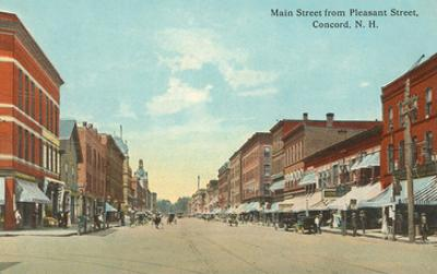 Main Street, Concord, New Hampshire