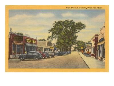 Main Street, Dennisport, Cape Cod, Mass.--Art Print