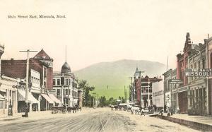 Main Street East, Missoula, Montana