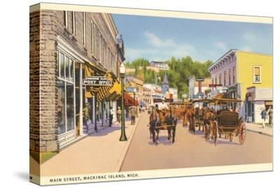 Main Street, Mackinac Island, Michigan