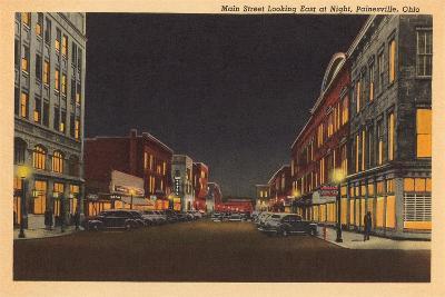 Main Street, Painesville--Art Print