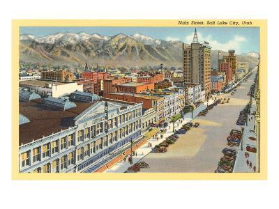 Main Street, Salt Lake City, Utah--Art Print