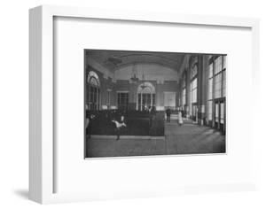 Main waiting room - Union Terminal Station, Dallas, Texas, 1922
