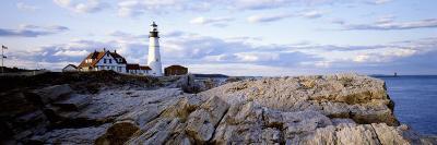 Maine, Cape Elizabeth, Portland Head Lighthouse--Photographic Print