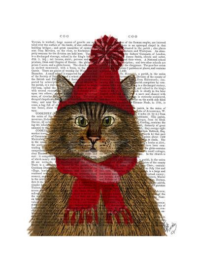 Maine Coon Cat-Fab Funky-Art Print