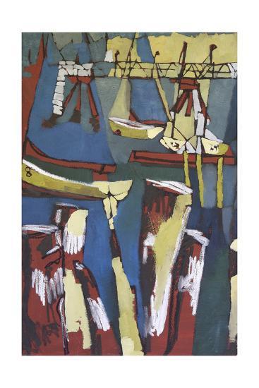 Maine Sails Portland I-Erin McGee Ferrell-Art Print