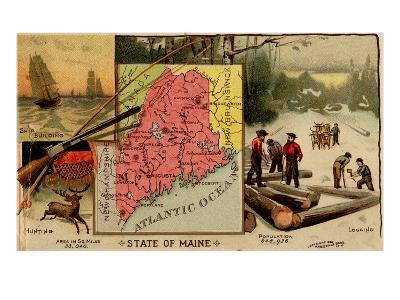 Maine-Arbuckle Brothers-Art Print