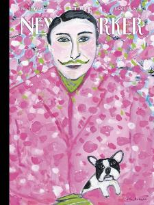 The New Yorker Cover - March 21, 2016 by Maira Kalman