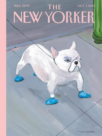 The New Yorker Cover - October 7, 2013 by Maira Kalman