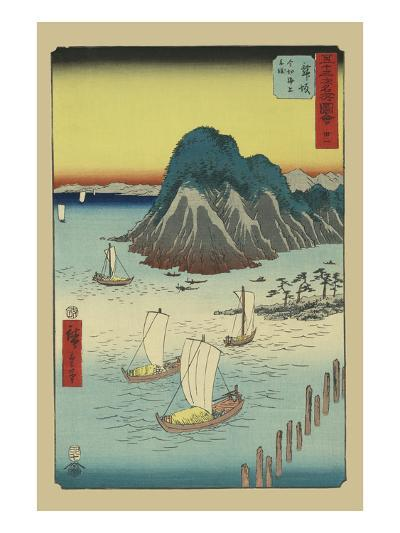 Maisaka-Ando Hiroshige-Art Print