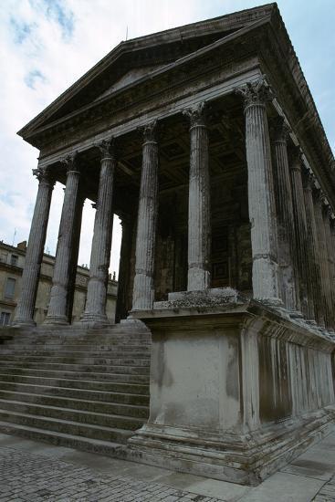 Maison Carree, the Only Intact Roman Temple, 1st Century Bc-CM Dixon-Photographic Print