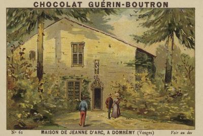 Maison De Jeanne D'Arc, a Domremy, Vosges--Giclee Print
