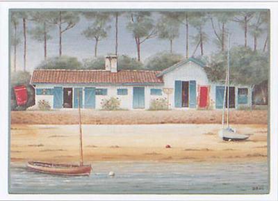 Maison de Vacances II-Dominique Perotin-Art Print