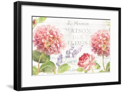 Maison Des Fleurs II-Danhui Nai-Framed Art Print