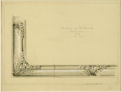 Maison Houel (Luneville, Meurthe-et-Moselle) : projet de plafond-Louis Majorelle-Giclee Print