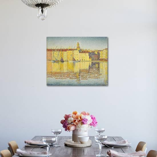 Maisons Du Port Saint Tropez Giclee Print By Paul Signac Artcom