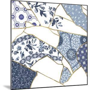 Kintsugi - Cornflower Crackle by Maja Gunnarsdottir