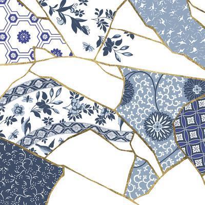 Kintsugi - Cornflower Crackle