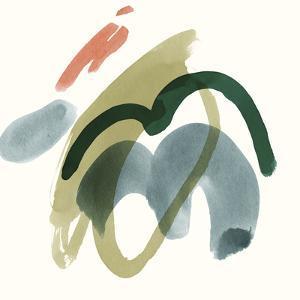 Organic Abstraction - Swirl by Maja Gunnarsdottir