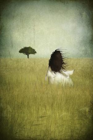 Girl on the Field by Maja Lindberg