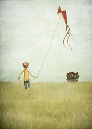 Kite Runner by Maja Lindberg