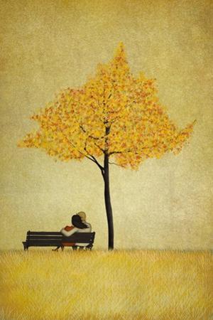 The Cherry Tree - Fall by Maja Lindberg